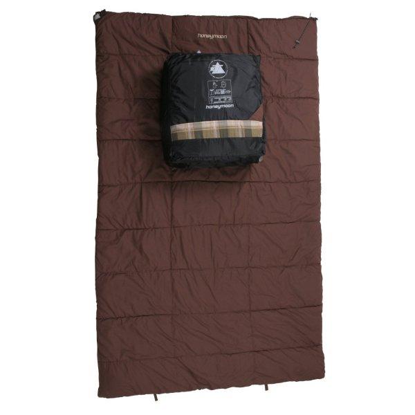 10T Outdoor Equipment Schlafsack Honeymoon, Beige, 220 x 140 cm für 59,99€ @Amazon Blitz