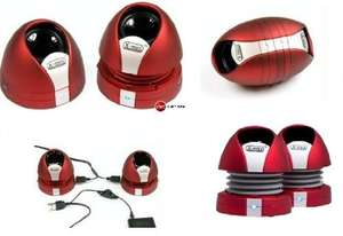 "XMI™ - Stereo Kapsel-Lautsprecher ""X-mini Max II"" (Rot) für €13,65 [@Mymemory.co.uk]"