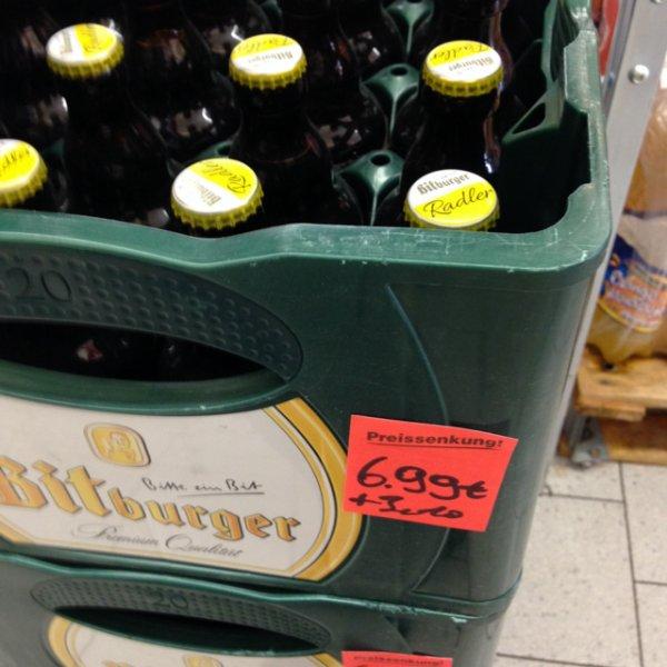 [lokal?] [netto bickenbach] Bitburger Radler oder Colabier Stubbi 6,99