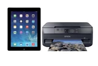 iPad 4 mit Retina & Drucker Epson Expression XP-510 für zusammen 344,- €