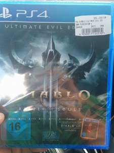 [LOKAL Nürnberg] PS4 Diablo III Reaper of Souls Ultimate Evil Edition