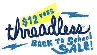 Threadless SALE - Tshirts ab 10$, neue ab 12$
