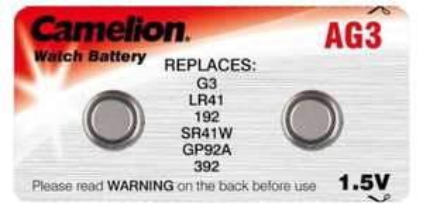 2 Camelion AG3 Knopfzellen - Gratis