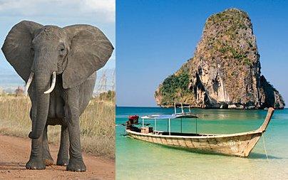 Flüge: Kombireisen Südafrika und Thailand 586,- € gesamt - plus China und Japan für +182,-€ - Seychellen und Thailand 638,- € - weitere Oneways nach New York, Los Angeles und Sao Paulo