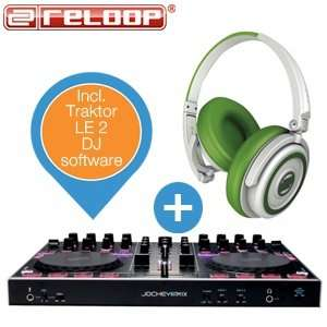 Reloop Digital Jockey 3 Remix inkl Reloop Kopfhörer