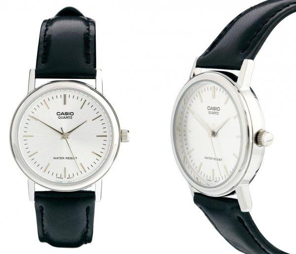 """Casio™ - Herren Leder-Armbanduhr """"MTP-1261E-7AEF"""" (im Summer Sale mit bis zu 75 Prozent Rabatt) für €17,48 [@Asos.de]"""