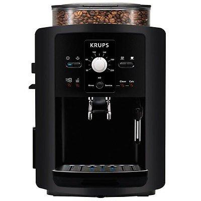 Ebay letzter Tag Deltatecc: KRUPS EA8000 Kaffee Espresso Cappuccino Vollautomat Kaffeemaschine schwarz (50€ unter idealo)