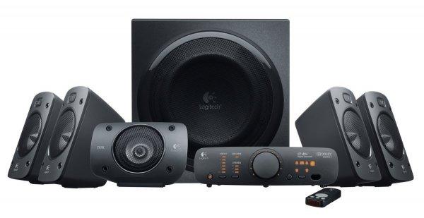 (Amazon Blitzangebot) Logitech Z906 5.1 Lautsprechersystem THX und Dolby Digital für 259€