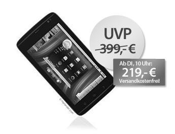 Dell Streak Mini 5 Tablet für 219 Euro bei MeinPaket