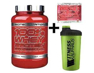 Scitec Nutrition Whey Protein Professional 920g Erdbeere + Shaker + Probe