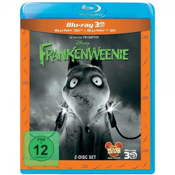 [conrad.de] 3D Blu-ray Frankenweenie & 3D Blu-ray Der Zauberer von Oz zusammen für 22,83€