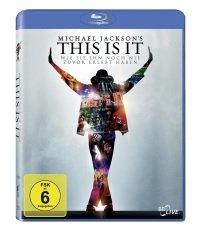 Michael Jackson Bluray This is it (Doku) @saturn.de