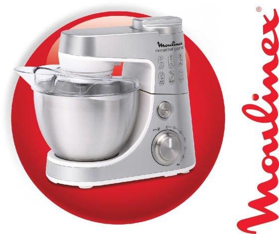 Moulinex Küchenmaschine gourmet plus qa404d - 20% gespart zum Vergleichspreis