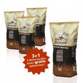 BBQ JOE: Best American Grill Holzkohle 5 Kg 3+1 Aktion, Gesamt 20 Kg bei Comtech + 5 € in Rakuten Superpunkten