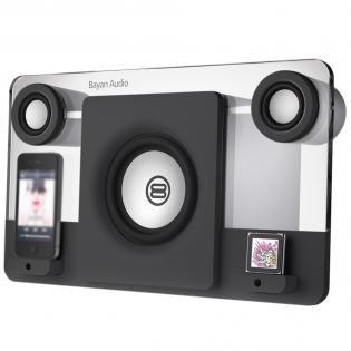 Bayan Audio Bayan 5 Schwarz (Dockingstation für iPod/iPhone) für 74,99 EUR (38% günstiger als idealo!)
