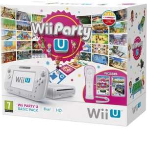 Wii U - Console 8 GB Wii Party U Basic Pack für 183,70€ (Vergleichspreis: 268€) @Amazon.it