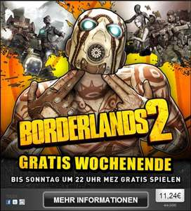 [Steam] Borderlands 2 Gratis Wochenende