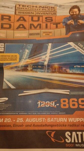 Samsung UE55H6290 SSX Saturn Wuppertal