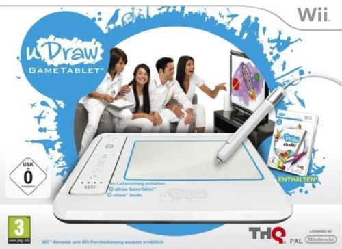 Nintendo Wii-UDraw GameTablet mit uDraw Studio-für nur 24,95€ inkl.Versand