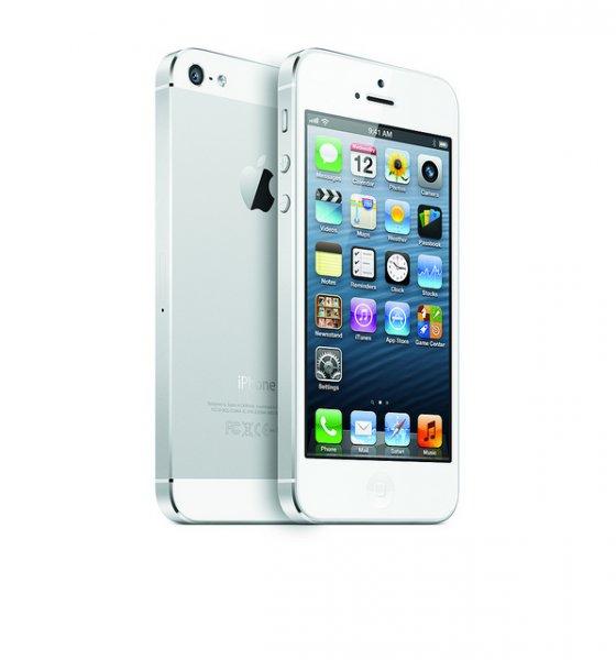eBay: Apple iPhone 5 - 64 GB - Weiß und Silber (Ohne SIM Lock) 489 Euro