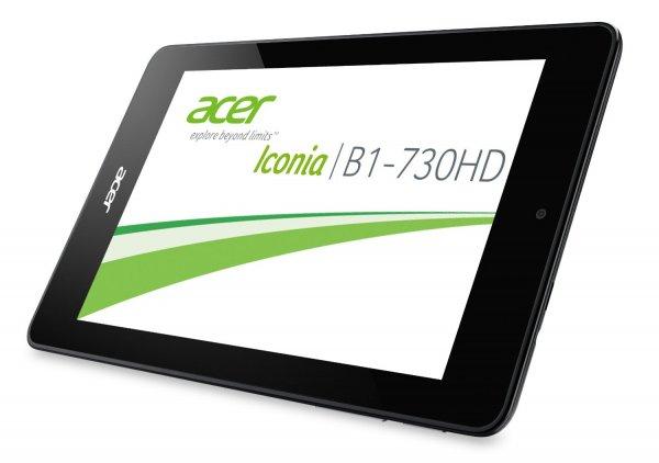 Acer Iconia One 7 (B1-730HD) 7 Zoll Tablet-PC (Intel Atom Z2560, 1,6GHz, 1GB RAM, 8GB eMMC, HD Display, IPS Technologie, Android 4.2) schwarz für 79€ @Amazon Blitz