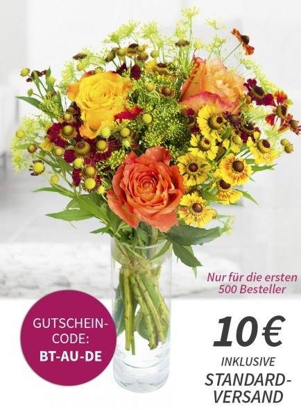 Blumenstrauß bei Miflora für 10€ inkl. VSK für 500 Besteller