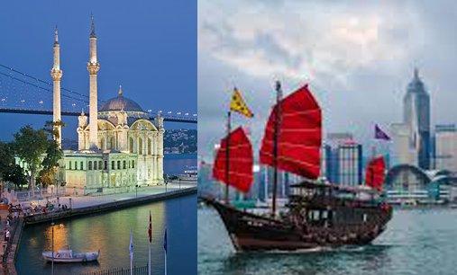 Flüge: Hong Kong ab Amsterdam 422,- € hin und zurück incl. 1 Tag kostenlosem Stopover in Istanbul mit Hotel (November-Juni)