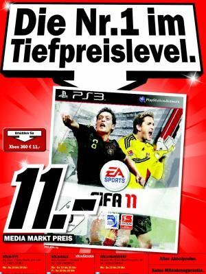 [LOKAL] Media Markt Köln - FIFA 11 (PS3 & XBOX 360) 11€