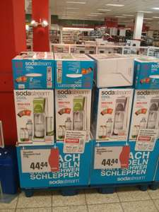 Local Rewe Center NWZ Soda Stream Megapack Grün / Grau