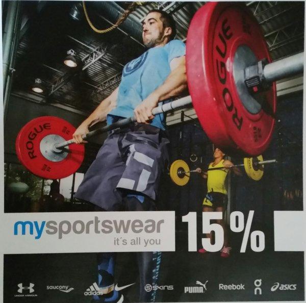 15% auf Sportbekleidung und Schuhe uvm.