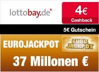 Qipu | Lottobay.de: 5€ Gutschein + 4€ Cashback bei nur 11,60€ Mindestspieleinsatz, d.h. 11 Felder (Lotto 6aus49) für nur 2,60€ spielen