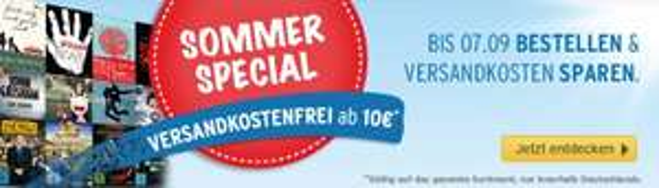 [Medimops.de ]Sommer Special - Jetzt Versandkosten sparen