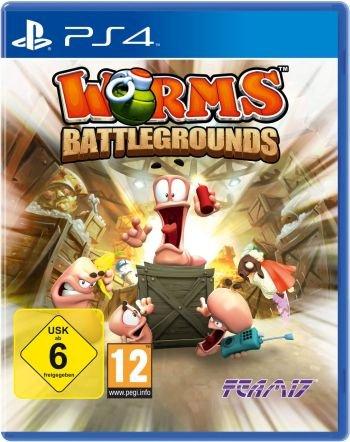 Worms: Battlegrounds (PS4) für 23,68€