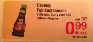 [V-Markt] Develey Saucen 250ml für je 0,99€ (McDonalds Saucen)