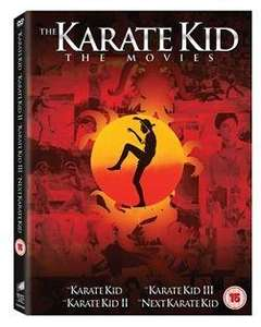 KARATE KID Box Set Collection 1 + 2 + 3 + 4 DVD