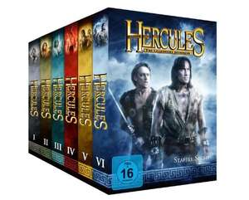 Hercules: The Legendary Journeys - Komplett-Package, Staffel 1-6 [34 DVDs] @Amazon.de
