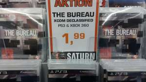 [lokal Berlin] The Bureau Xcom Declassified PS3 & XBOX 360 - Saturn Alexanderplatz