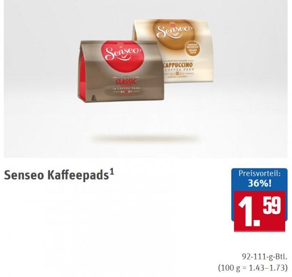 Senseo Kaffeepads für 1,59 Euro bei REWE