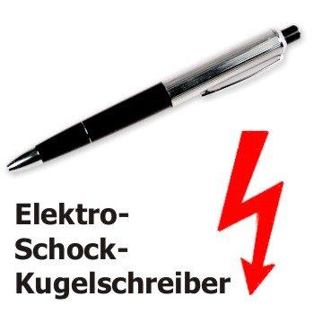 [ebay.de CN] Elektroschock Kugelschreiber (inkl. 3x LR41 Batterien)