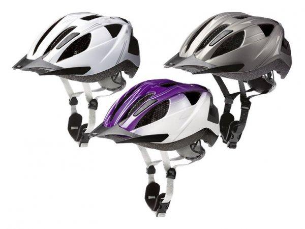 [Lidl] Fahrradhelme für Damen,Herren und Kinder mit Einhand-Größenverstellsystem und Rücklicht für je 9,99€!