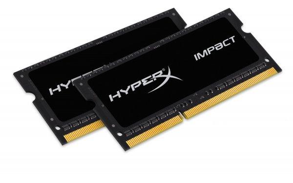 Kingston HX316LS9IBK2/8 Arbeitsspeicher 8GB (2x4GB, 1600MHz, CL9) DDR3-RAM für 54,62 € @Amazon