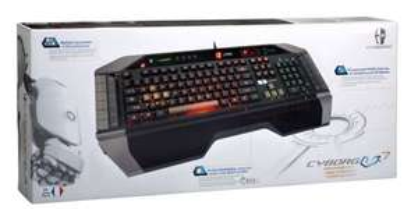 Mad Catz V7 Gaming Tastatur für 12,96€ statt 57,84€