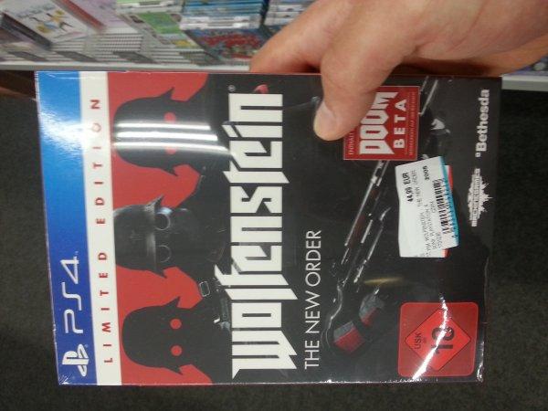 Wolfenstein The New Order Limited Edition (Offline Media Markt Alexa)