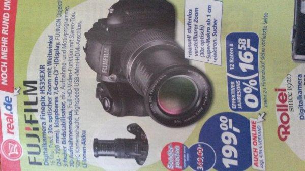 Fujifilm Finepix HS35EXR 199,-€! Evtl. sogar 161,19€!
