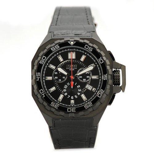 [Amazon Marketplace] ESPRIT Collection Herren Edelstahl-Armbanduhr EL101011F05 Asopos Midnight für 49,90€ incl.Versand!
