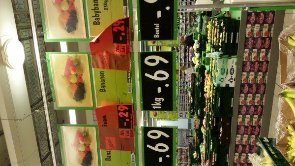 Bananen 29 Cent pro Kilo lokal kaufland Friedrichshafen