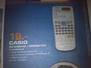*LOKAL Saturn Flensburg* Casio FX991 DE Plus