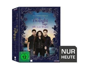 Trade-In: The Complete Collection: Die Twilight Saga - Bis(s) in alle Ewigkeit - Bei Media Markt kaufen und bei Amazon für 23,45 eintauschen