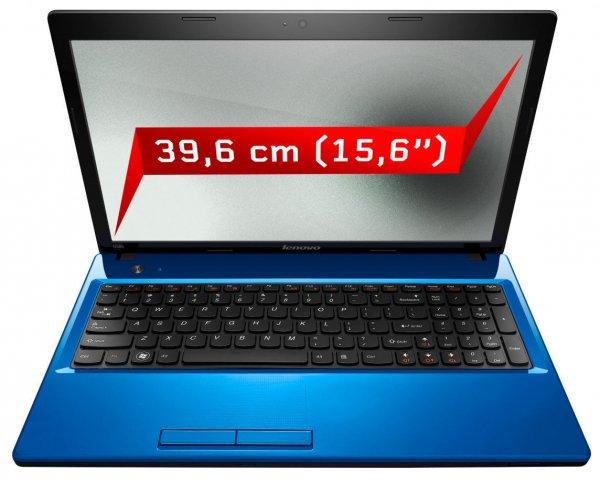 """Lenovo IdeaPad G580 15,6""""/39,6cm Notebook i3 2,3GHz 1TB 4GB Windows 8 WLAN blau B-Ware @eBay für 299,-€"""