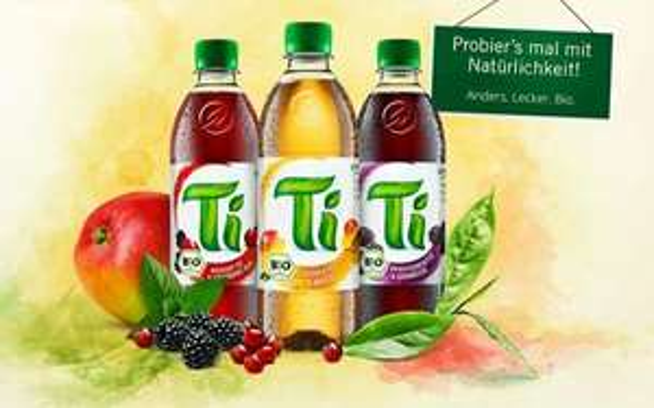[REWE] Ti Teegetränk 1,0l für 0,49€ max. 30 Flaschen (Angebot + Cash-Back)